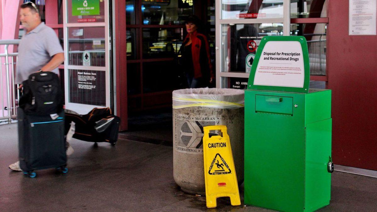Las Vegas Airport Now Offers Weed Disposal Bins