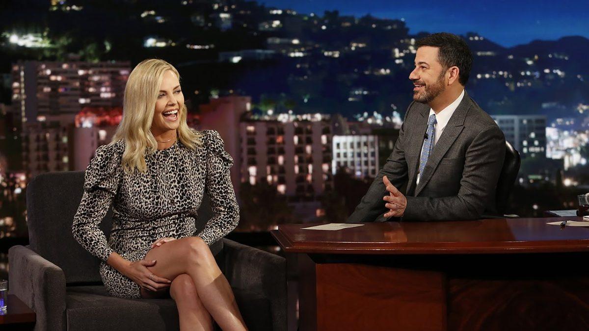 Charlize Theron Admits to Marijuana Use on Jimmy Kimmel