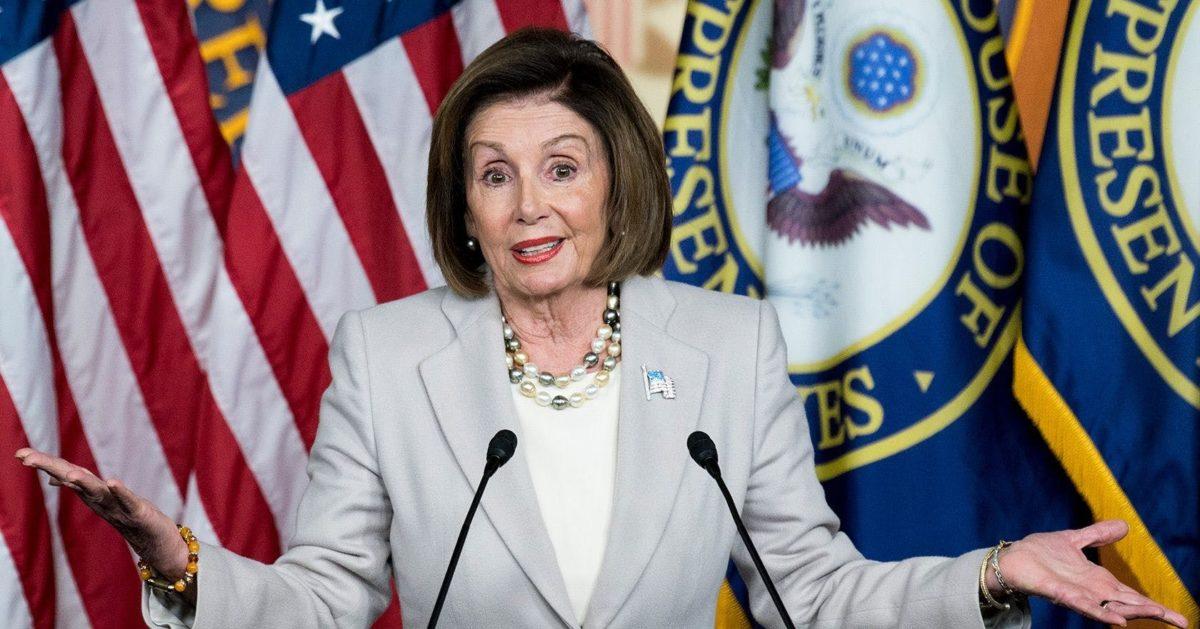 Speaker of the House Nancy Pelosi Defends Marijuana for Coronavirus Relief