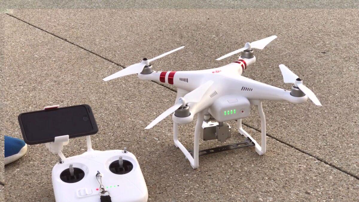 Drone Drops Bags of Marijuana in Israel
