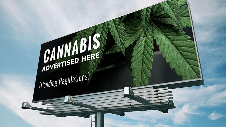 California Regulators Want to End Highway Marijuana Billboards