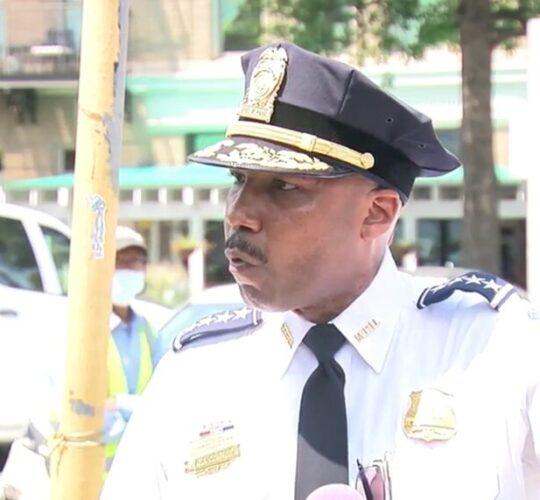 Washington D.C. Police Chief Robert Contee Says Marijuana is Related to Violent Crime Surge