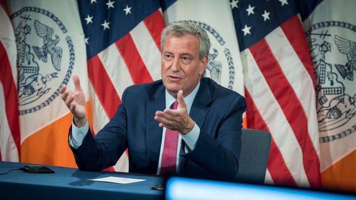 Mayor Bill De Blasio Blasts NY Governor Over Weed Legislation Process
