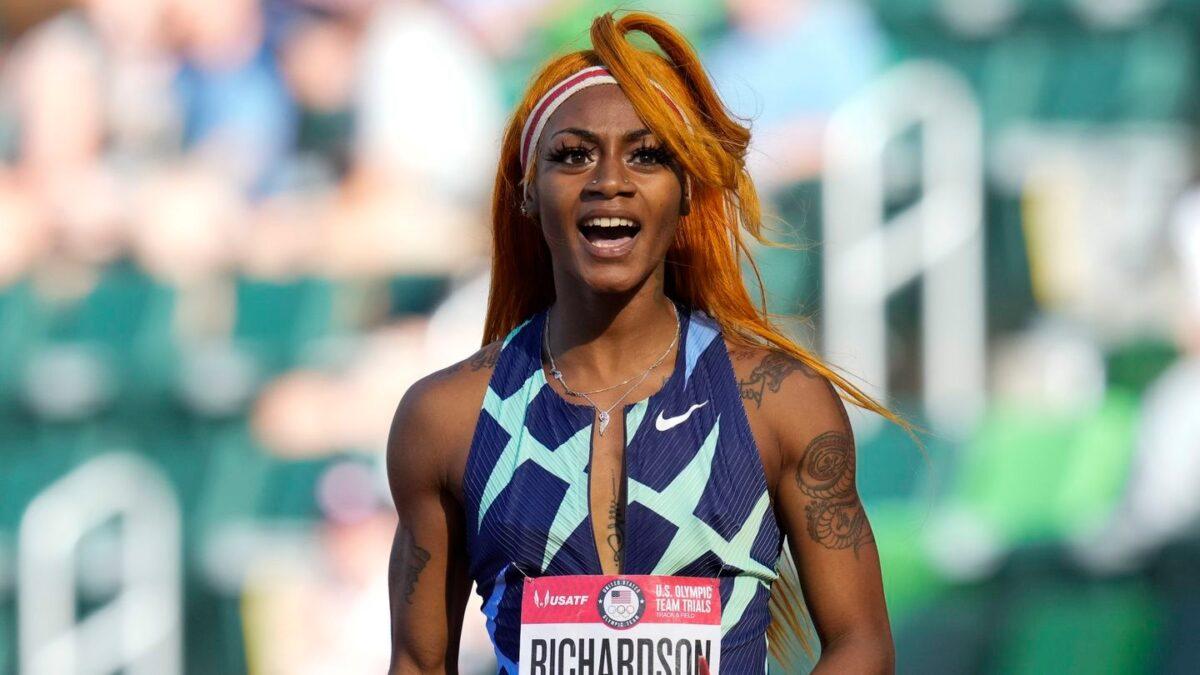 American Sprinting Star Sha'Carri Richardson is Disqualified in the Olympics Over Marijuana Use